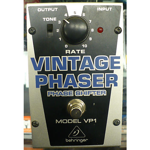 Behringer VP1 Vintage Phaser Effect Pedal