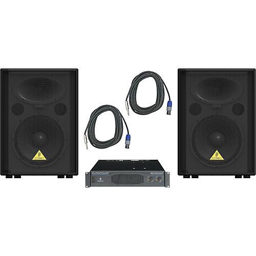 Behringer VP1220 / EP2000 Speaker & Amp Package