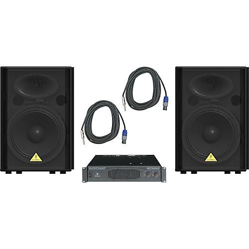 Behringer VP1520 / EP2000 Speaker & Amp Package