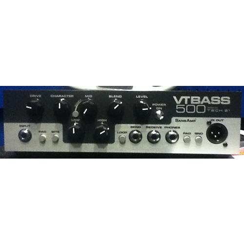 Tech 21 VT BASS 500 Bass Amp Head-thumbnail