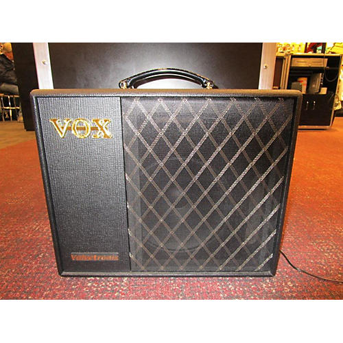 used vox vt40plus valvetronix 1x10 40w guitar combo amp guitar center. Black Bedroom Furniture Sets. Home Design Ideas