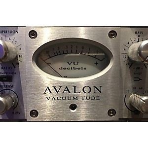 Pre-owned Avalon VT747SP Pure Class A Vacuum Tube Channel Strip by Avalon