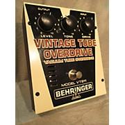 Behringer VT911 VINTAGE TUBE OVERDRIVE Effect Pedal