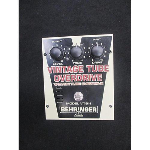 Behringer VT911 Vintage Tube Overdrive Effect Pedal-thumbnail