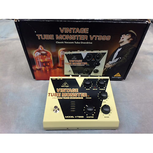 Behringer VT999 Vintage Tube Monster Effect Pedal