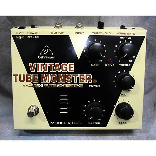 Behringer VT999 Vintage Tube Monster Effect Pedal-thumbnail