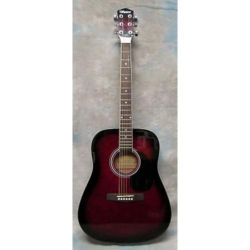 Ventura VWDOPUR-BST Acoustic Guitar