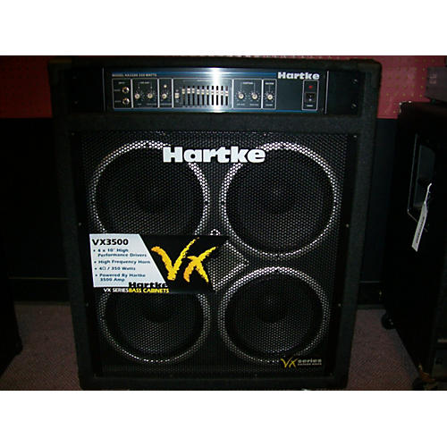 used hartke vx3500 350w 4x10 bass combo amp guitar center. Black Bedroom Furniture Sets. Home Design Ideas