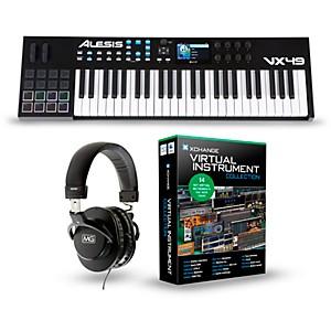 Alesis VX49 49 Key Keyboard Controller Package by Alesis