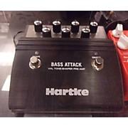 Hartke VXL Bass Attack & Direct Box Bass Effect Pedal