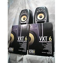 KRK VXT6 Pair Powered Monitor