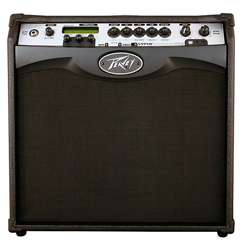 Peavey VYPYR VIP 3 100W 1x12 Guitar Modeling Combo Amp Black-thumbnail