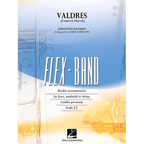 Hal Leonard Valdres (Concert March) FlexBand Concert Band Series Level 2 - 3-thumbnail