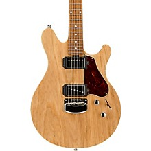 Valentine Signature Figured Roasted Maple Neck Electric Guitar Natural Satin