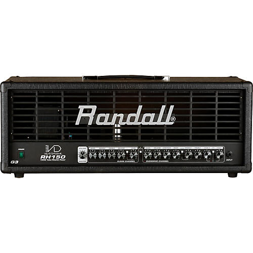 Randall Valve Dynamic G3 Series RH150G3 150W Guitar Amp Head