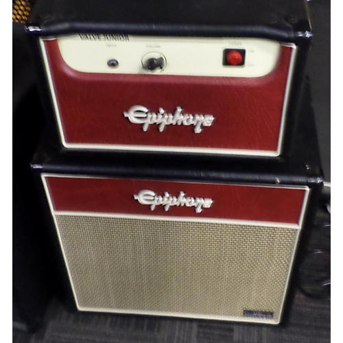 Epiphone Valve Jr 5W Class A WITH 1X12 SPEAKER CABINET Tube Guitar Amp Head-thumbnail