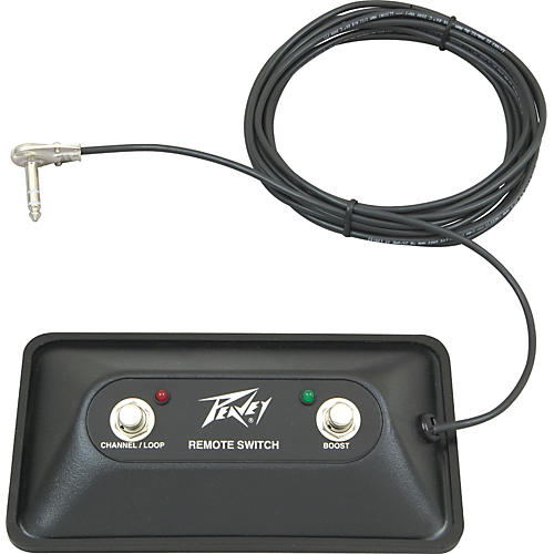 Peavey ValveKing and Windsor Guitar Footswitch-thumbnail