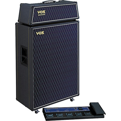 Vox Valvetronix AD120VTH / AD412 Half Stack Package with Foot Controller