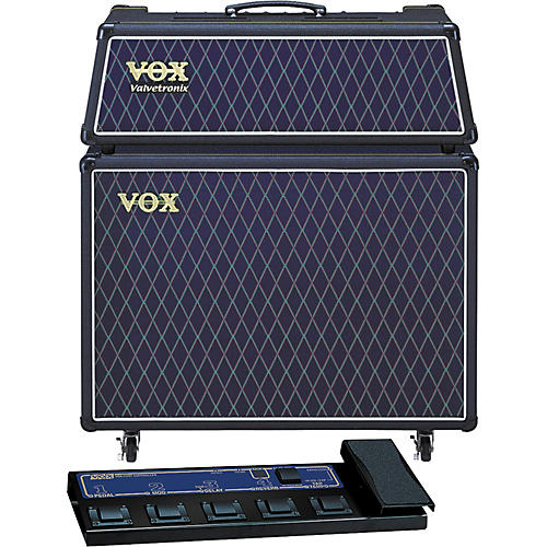 Vox Valvetronix AD60VTH / AD212 Extension Cab Package with Foot Controller