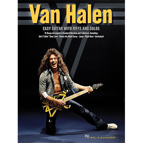 Hal Leonard Van Halen - Easy Guitar With Riffs And Solos (With Tab)-thumbnail