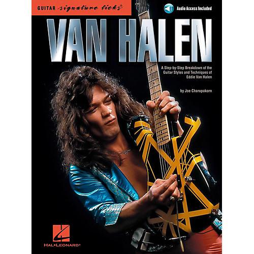 Hal Leonard Van Halen - Guitar Signature Licks Book/Online Audio-thumbnail