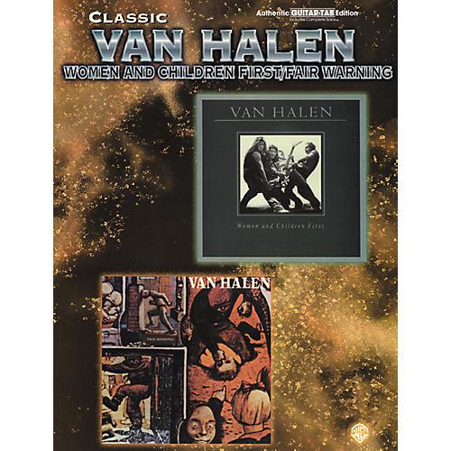 Alfred Van Halen - Women and Children First/Fair Warning Book