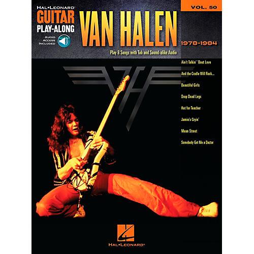 Hal Leonard Van Halen 1978-1984 - Guitar Play-Along Vol. 50 Book/CD-thumbnail