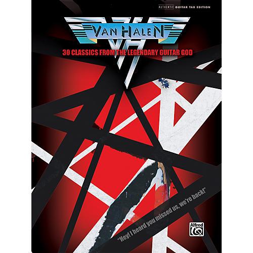 Alfred Van Halen 30 Classics from the Legendary Guitar God Guitar Tab Book-thumbnail