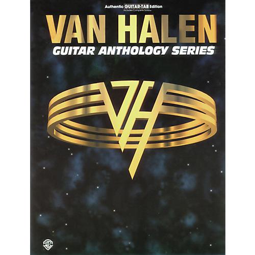 Alfred Van Halen Anthology Series Guitar Tab Book-thumbnail