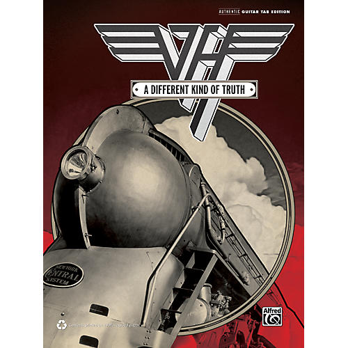 Alfred Van Halen Different Kind of Truth Guitar TAB Book-thumbnail