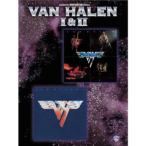 Alfred Van Halen I & II Guitar Tab Book-thumbnail