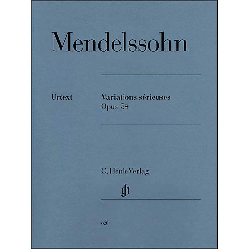 G. Henle Verlag Variations Srieuses, Op. 54 By Mendelssohn-thumbnail