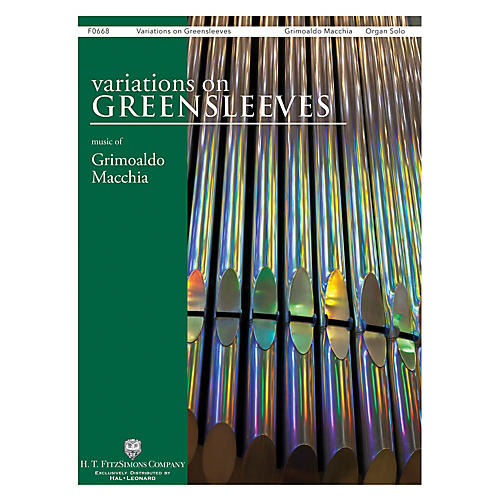 H.T. FitzSimons Company Variations on Greensleeves Organ Solo