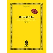 Eulenburg Variations on a Rococo Theme (Original Version), Op. 33 Orchestra Softcover by Pyotr Il'yich Tchaikovsky