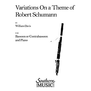 Southern Variations on a Theme of Robert Schumann Bassoon Southern Music ...