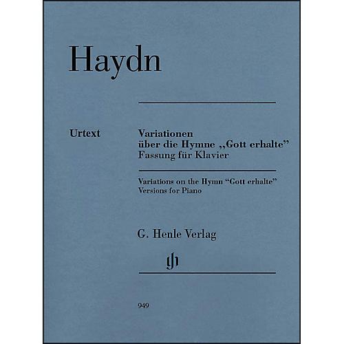 G. Henle Verlag Variations on the Hymn