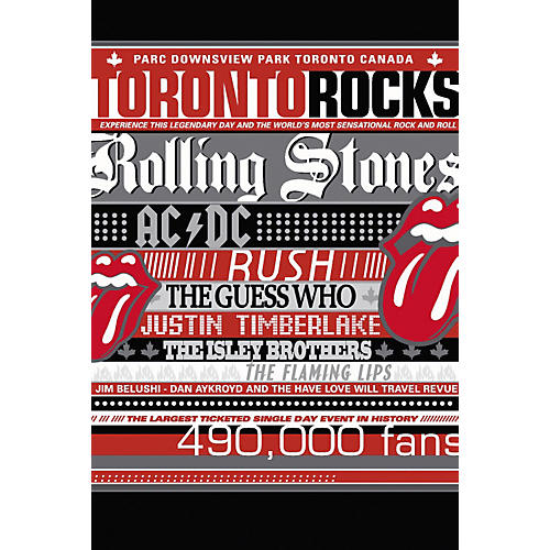 Music CD Various - Toronto Rocks Live (DVD)