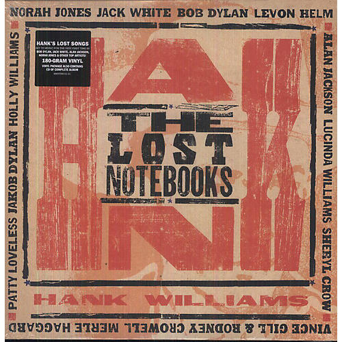 Alliance Various Artists - The Lost Notebooks Of Hank Williams