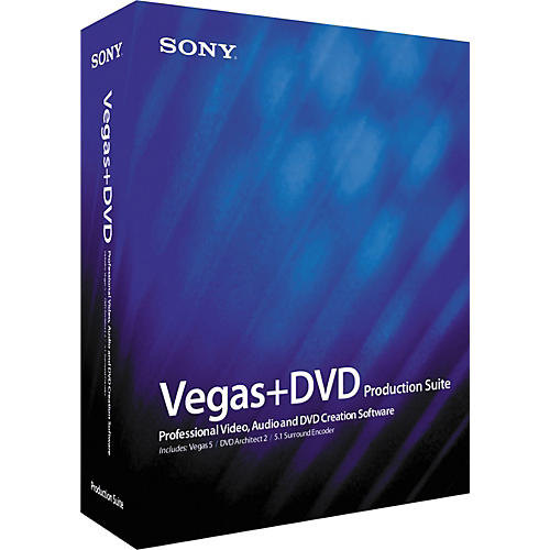 Sony Vegas 5+ DVD Production Suite-thumbnail