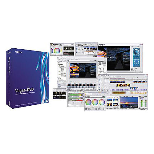 Sony Vegas 6.0+DVD Production Software Suite-thumbnail