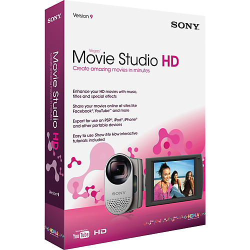 Sony Vegas Movie Studio HD Software