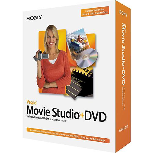 Sony Vegas Movie Studio Plus DVD-thumbnail