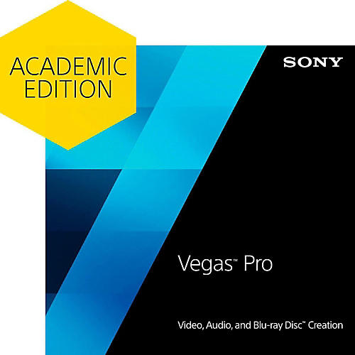 Sony Vegas Pro 13 - Academic Software Download