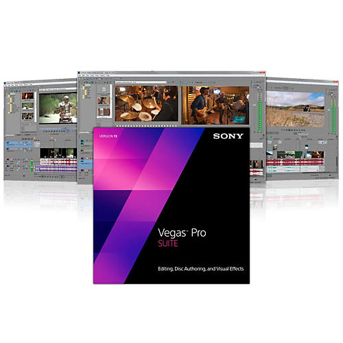 Magix Vegas Pro 13 Suite Software Download-thumbnail