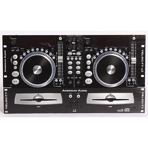 American Audio Velocity Professional Dual CD/MP3 Player  889406780996