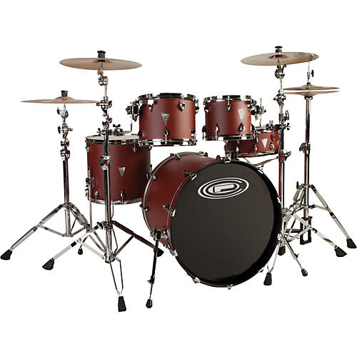 Orange County Drum & Percussion Venice 5-Piece Shell Pack with 22 Inch Bass Drum Tuscan Red