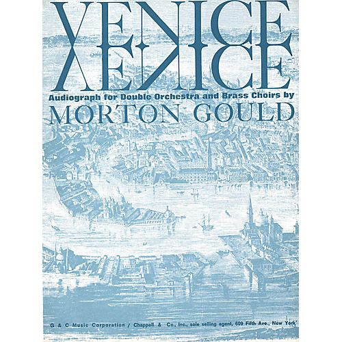 G. Schirmer Venice (Full Score) Orchestra Series by Morton Gould