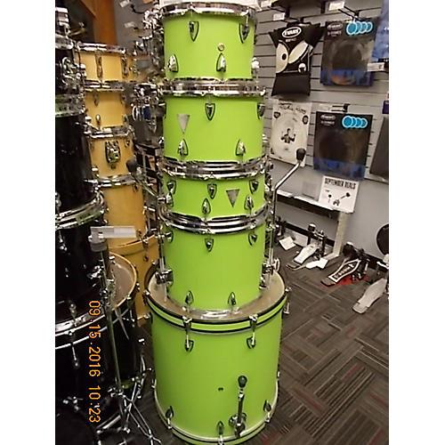 Orange County Drum & Percussion Venice Series Drum Kit Apple Green