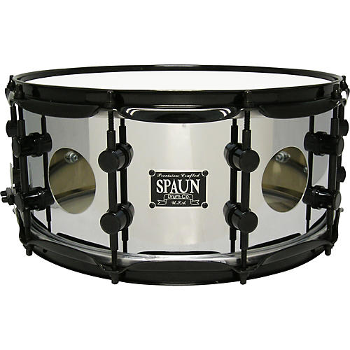 Spaun Vented Steel Chrome Snare