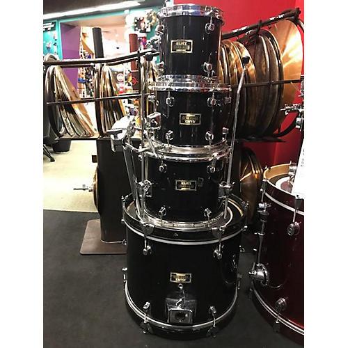 used mapex venus series drum kit black and silver guitar center. Black Bedroom Furniture Sets. Home Design Ideas